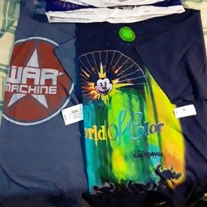 Brand new Disney park t shirts with tag